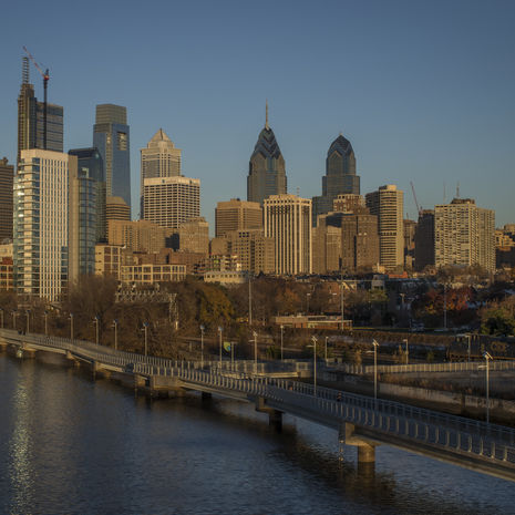 Background for the 'Discover Philadelphia' link block