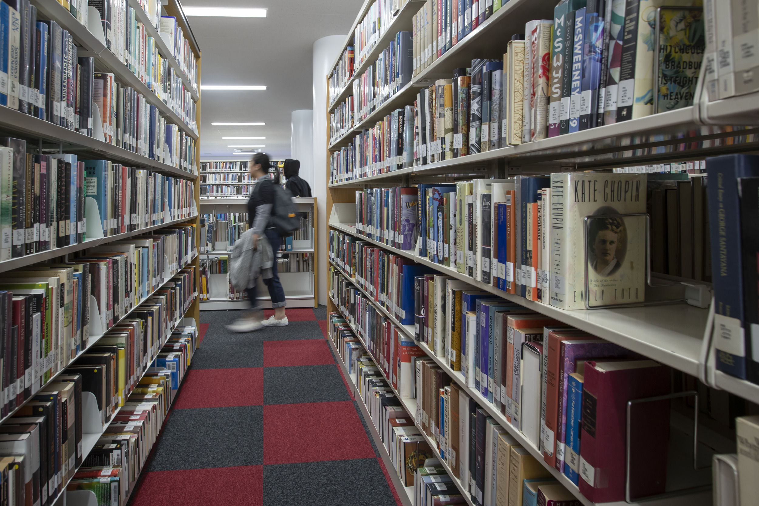 Inside one of Temple Japan campus libraries.