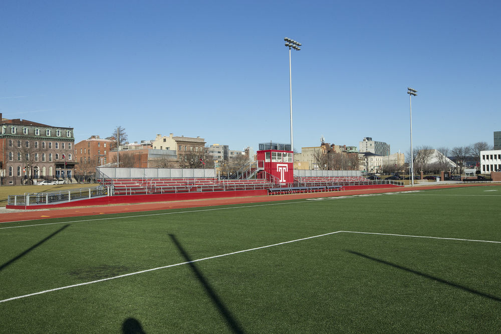 the Temple Sports Complex on a sunny day.